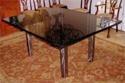 Piano Black dinning table