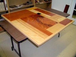 Attractive Custom Table Top RJ Fine Woodworking
