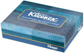 tissue box in kleenex junior size