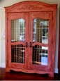 wine cabinet custom design and made by RJ Fine Woodworking