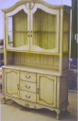 French country hutch custom made by RJ Fine Woodworking